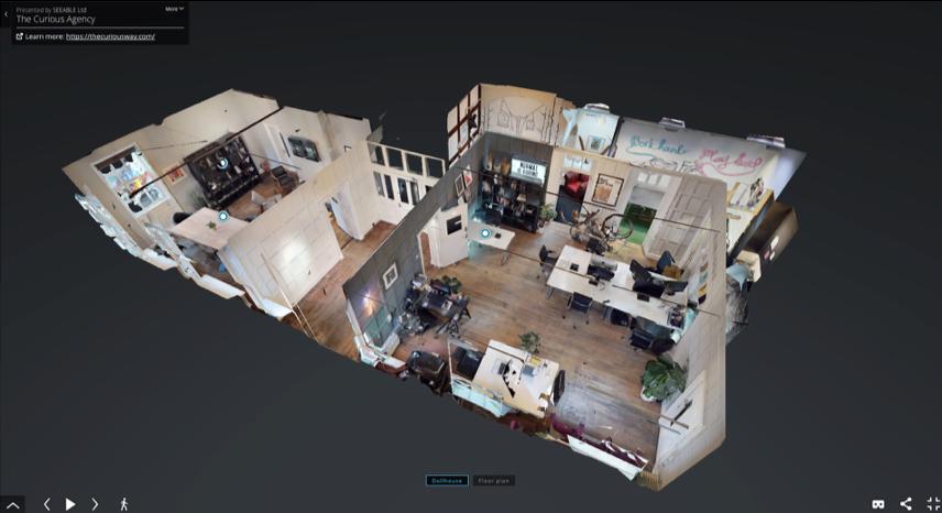 3D Matterport Scan Image