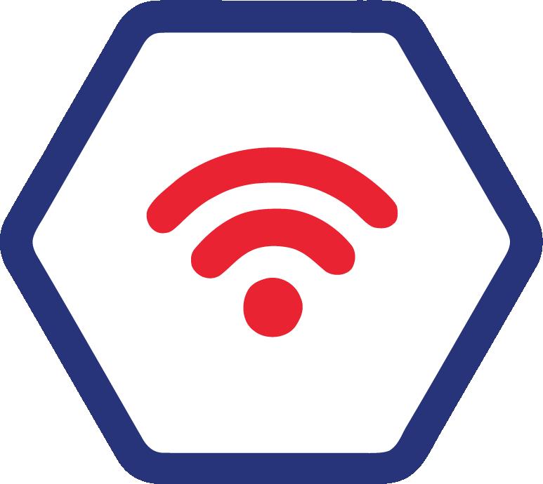 Ultrafast Connectivity Icon